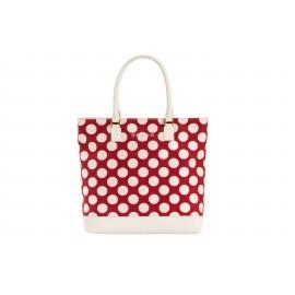Shopping Bag Bubble Rosso Ciliegio